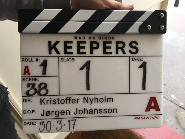 Keepers Movie Film Clapperboard