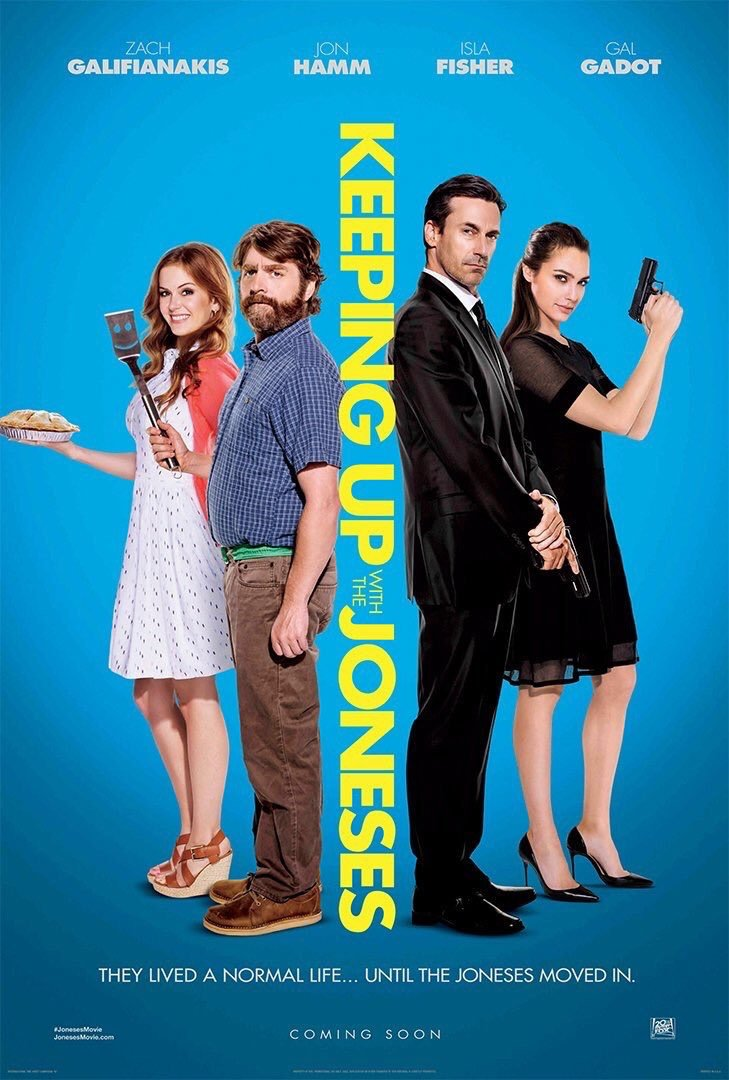 Image result for Keeping Up with the joneses movie poster