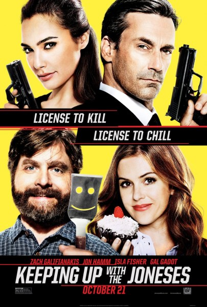 Keeping Up With The Joneses new poster