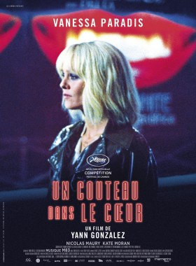 Knife + Heart French Poster