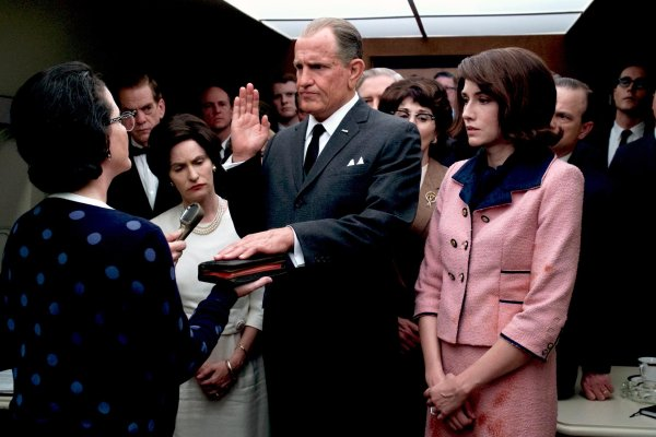 LBJ (2017) Movie - Sworn in