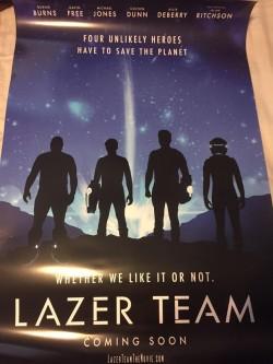 Lazer Team neues Poster
