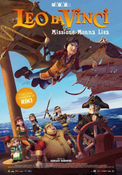 Leo Da Vinci Mission Mona Lisa Movie Poster