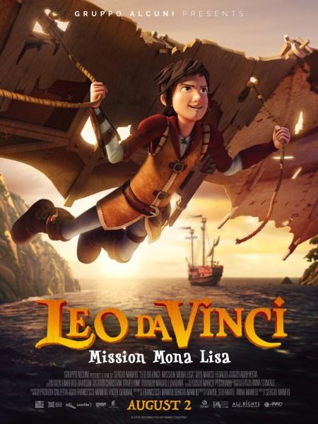 Leo Da Vinci Mission Mona Lisa US Poster