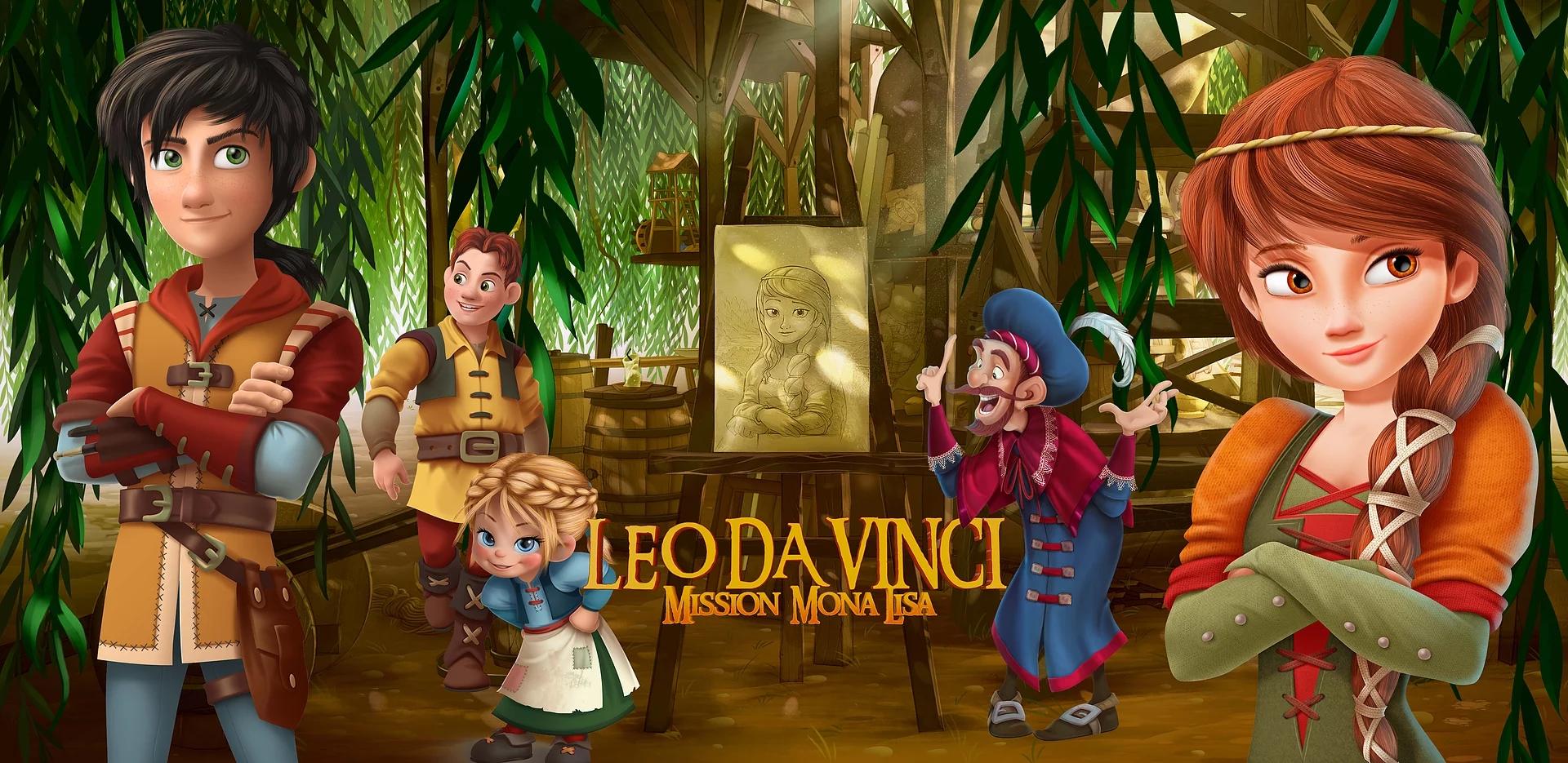 Ver Leo Da Vinci: Misión Mona Lisa Online Pelisplus Latino