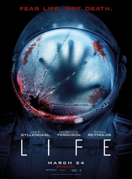 Life New bloody poster