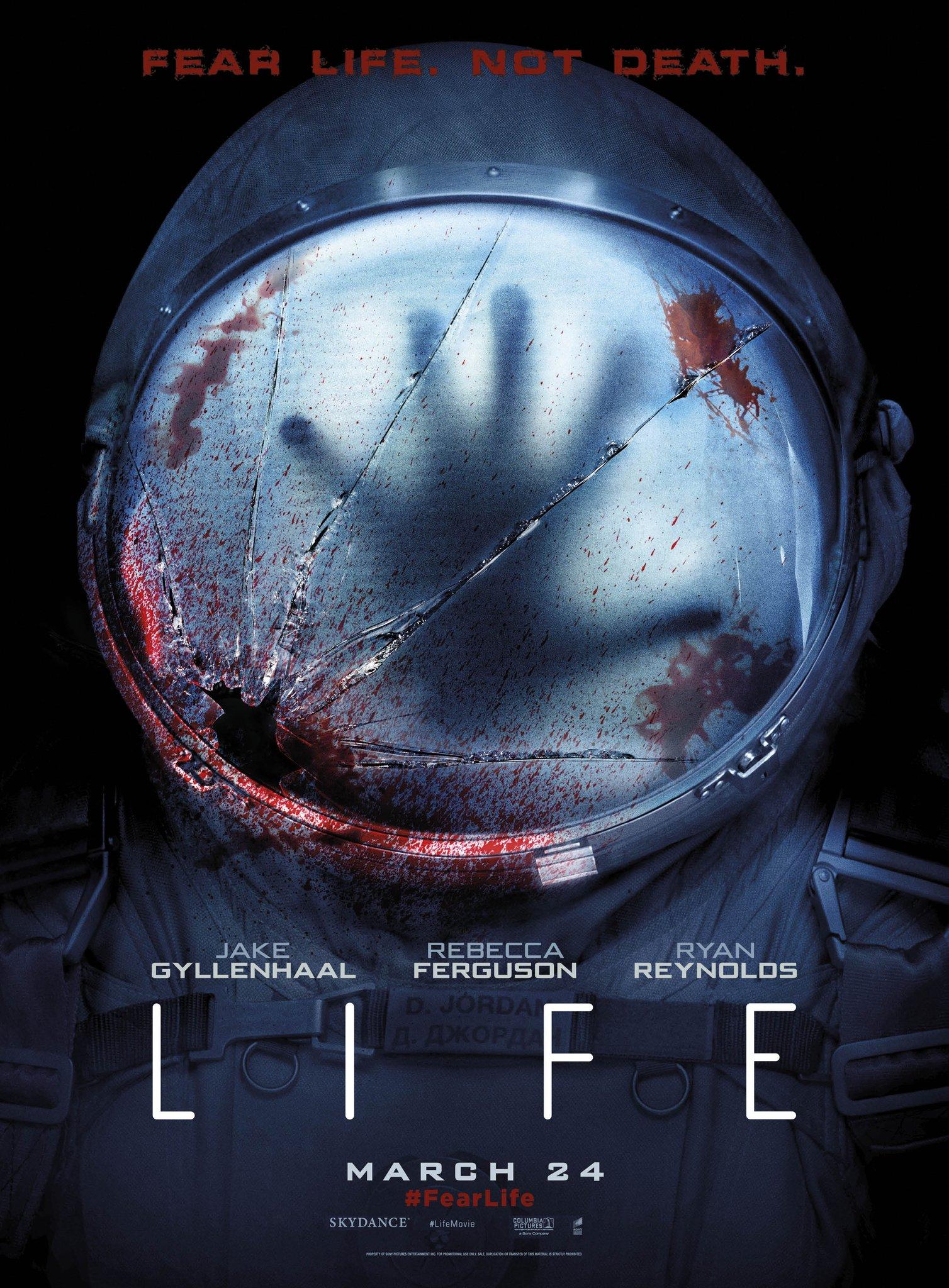 Resultado de imagem para life movie 2017