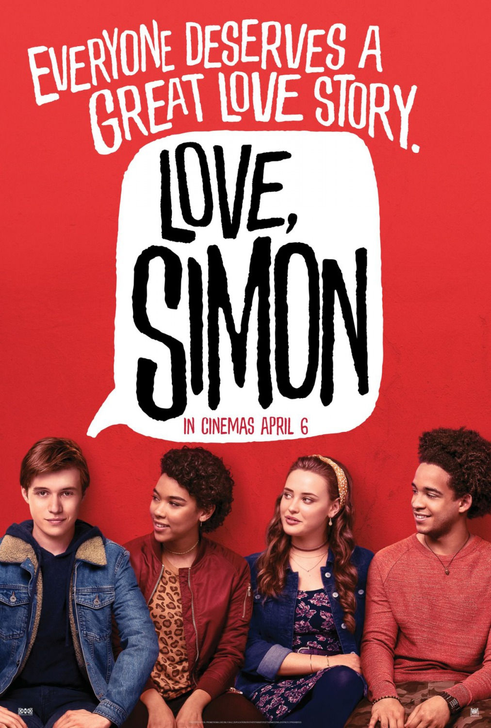 Love, Simon poster film