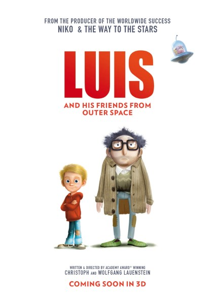 Luis And His Friends From Outer Space Movie Poster
