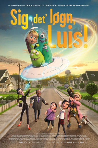 Luis And The Aliens New International Poster