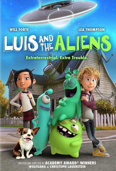 Luis And The Aliens New Film Poster