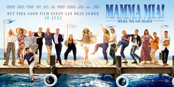 MAMMA MIA 2 HERE WE GO AGAIN New Banner poster