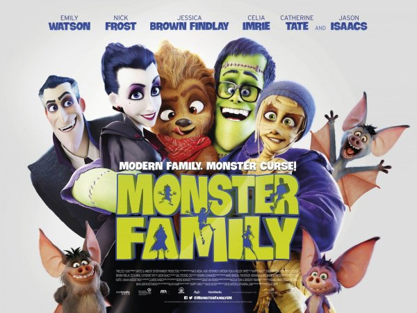 Monster Family UK Poster