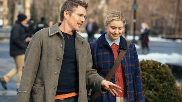 Maggie's Plan Movie - Ethan Hawke and Greta Gerwig