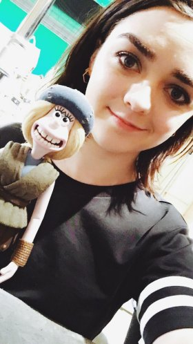 Maisie Williams will lend her voice to Goona in the stop-motion animated movie Early Man