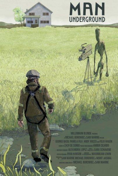 Man Underground Movie Poster