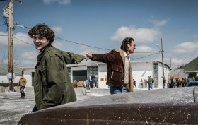 Matthew McConaughey And Richie Merritt In White Boy Rick Movie