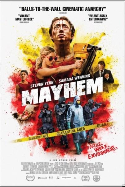 Mayhem New Poster