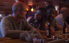 Michael Kelly, Pamela Adlon, And Isiah Whitlock Jr. in All Square
