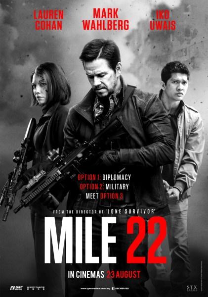 Mile 22 Malaysia Poster