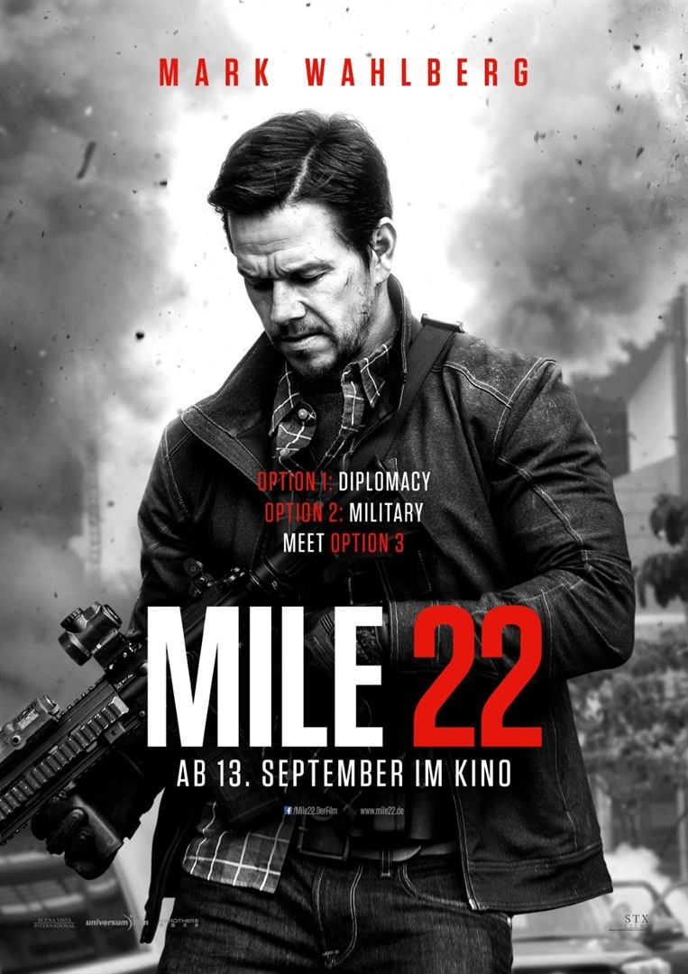 Resultado de imagem para movie poster Mile 22