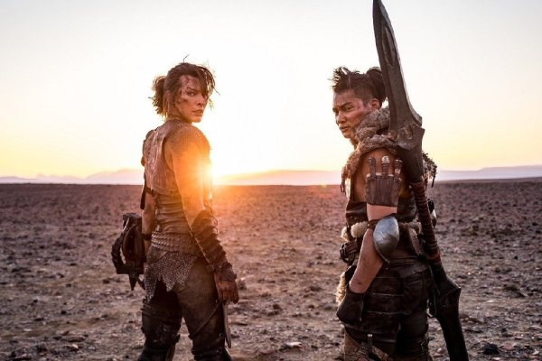 Milla Jovovich and Tony Jaa - Monster Hunter Movie