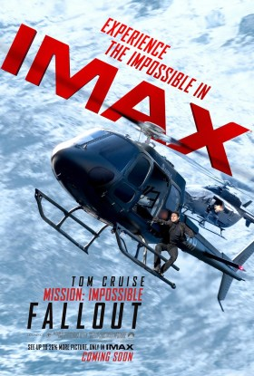 Mission Impossible Fallout IMAX Poster