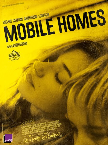 Mobile Homes French Poster Starring Imogen Poots