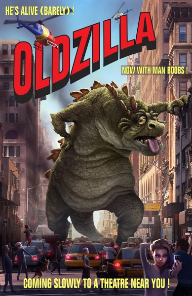Monster League OldZilla Concept Artwork