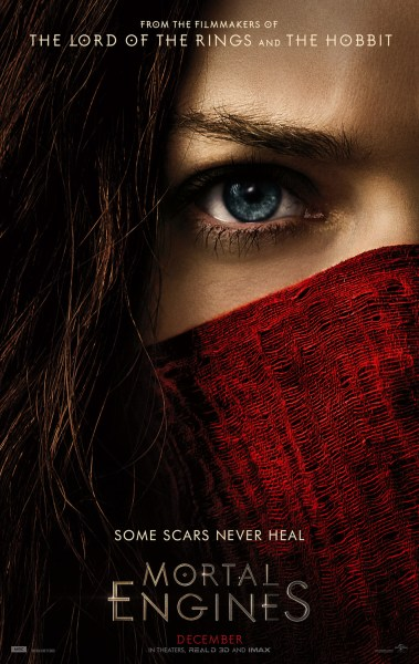 Mortal Engines New Film Poster
