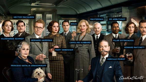 Murder On The Orient Express Movie released in November 2017