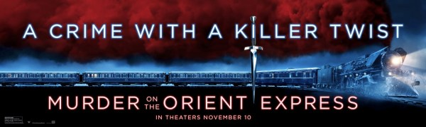 Murder On The Orient Express New Banner Poster