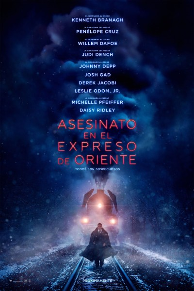 Murder On The Orient Express New International Poster