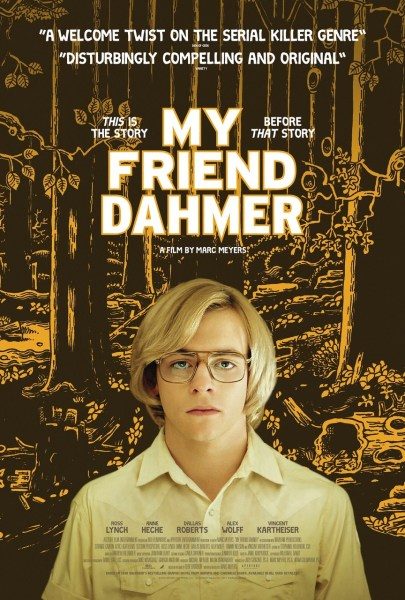 My Friend Dahmer UK Poster