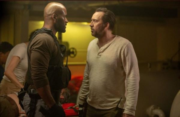 Nicolas Cage And LaMonica Garrett In Primal
