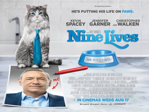 Nine Lives ugly banner