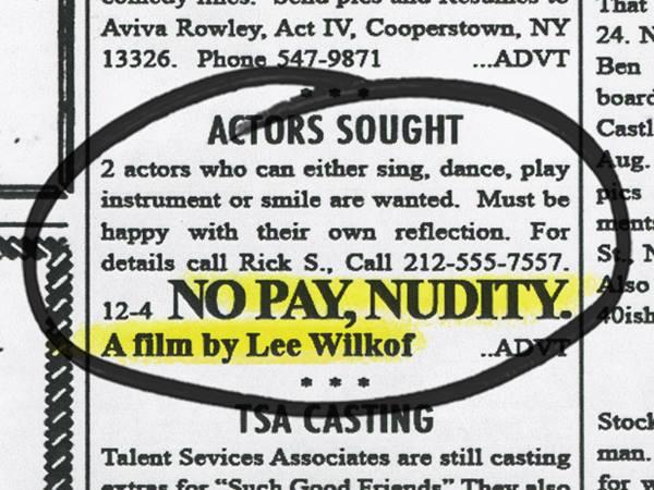 No Pay Nudity Movie