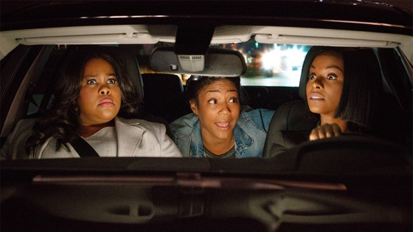 Nobody's Fool movie - (L-R) Amber Riley, Tiffany Haddish and Tika Sumpter in Nobody's Fool from PARAMOUNT PICTURES, PARAMOUNT PLAYERS, TYLER PERRY STUDIOS and BET FILMS.