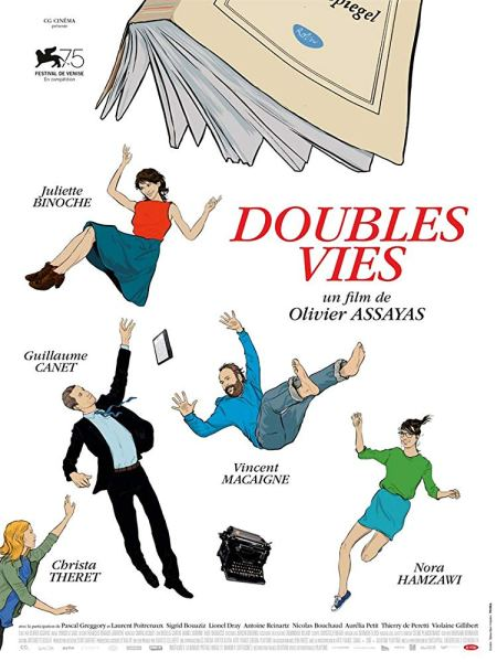 Non Fiction French Poster - Double life