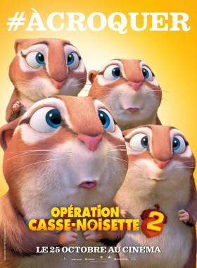 Nut Job 2 French Poster