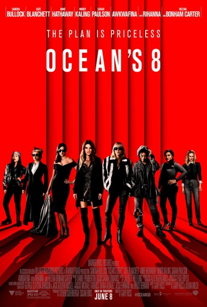 Ocean's 8 New Film Poster