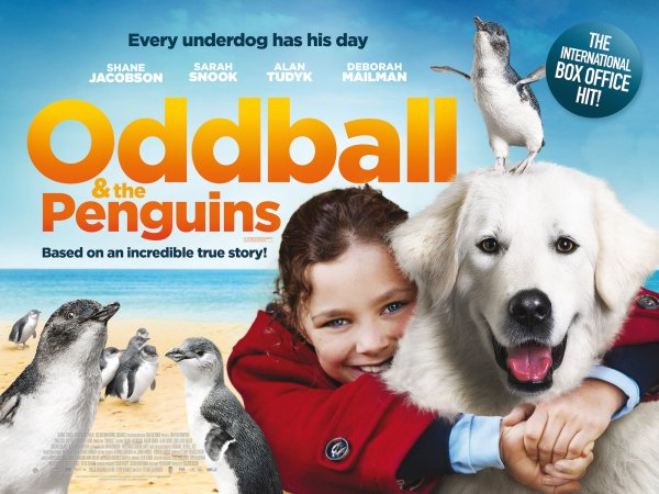 Oddball and the penguins Movie