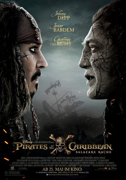 POTC 5 Dead Men Tell No Tales German Poster