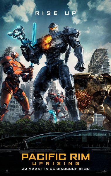 Pacific Rim Uprising New Poster