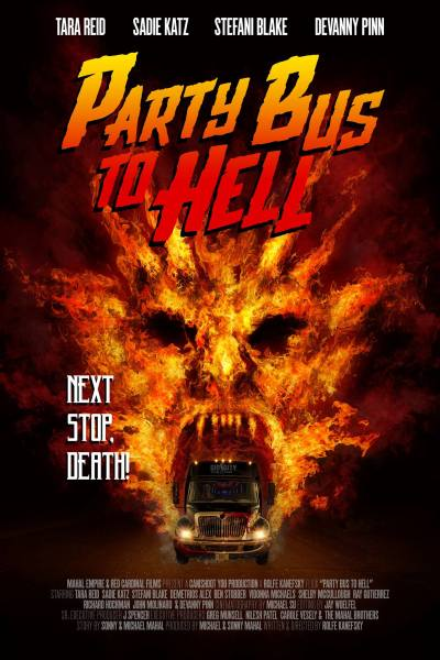 Party Bus To Hell Movie Poster