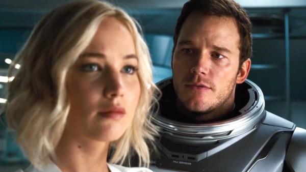 Passengers December 2016 Jennifer Lawrence And Chris Pratt