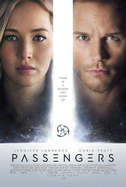 This Christmas, Jennifer Lawrence and Chris Pratt star in Passengers. #PassengersMovie