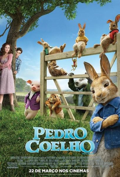 Peter Rabbit - Brazil Poster