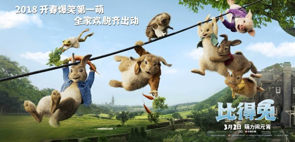 Peter Rabbit China Poster
