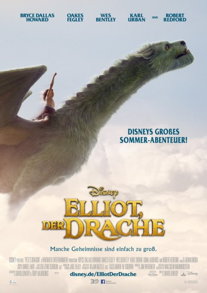 Pete's Dragon German Poster